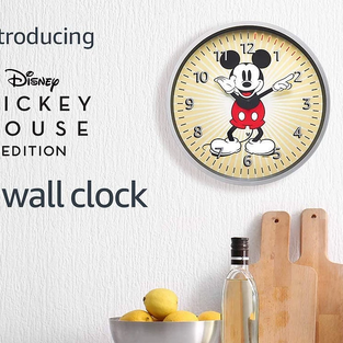 Disney Mickey Mouse Edition | Echo Wall Clock