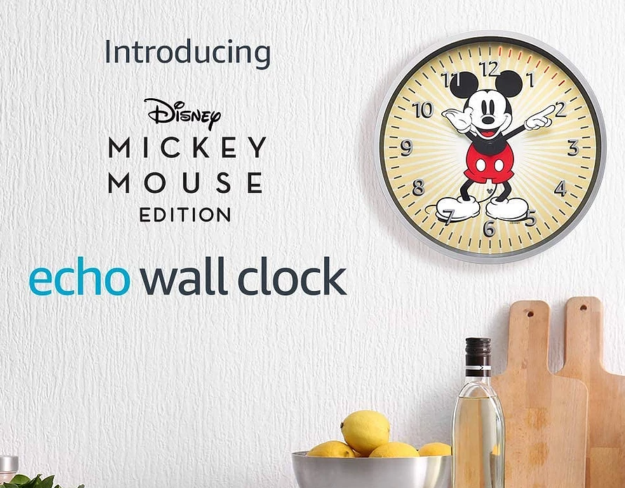 Disney Mickey Mouse Edition | Echo Wall Clock