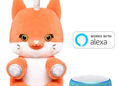 Amazon | Introducing Fuzzible Friends! A Works-With-Alexa Plush Toy