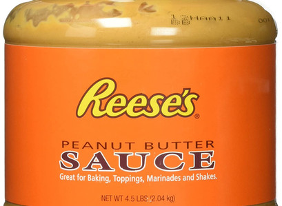 You Can Score A 4.5-Pound Tub of Reese's Peanut Butter Sauce