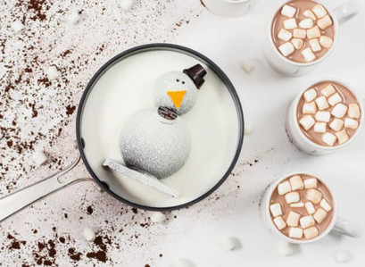 Carl The Drinking Chocolate Snowman – The Ultimate Hot Cocoa Bomb