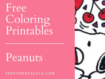 Knott's Berry Farm | Free Printables Peanuts Color By Number