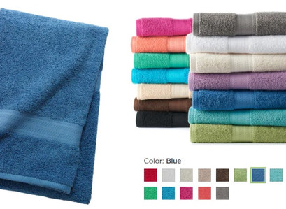 Kohl's | The Big One Solid Bath Towels (16 Colors)