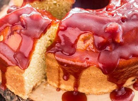 Recipe |  Brazilian Cornmeal Cake with Guava Sauce