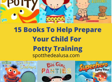 15 Books To Help Prepare Your Child For Potty Training
