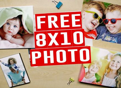 FREE 8×10 Photo Print w/ Free In-Store Pickup at Walgreens