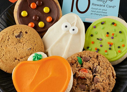 Cheryl's Halloween Cookie Sampler AND $10 Reward Card Only $9.99 Shipped