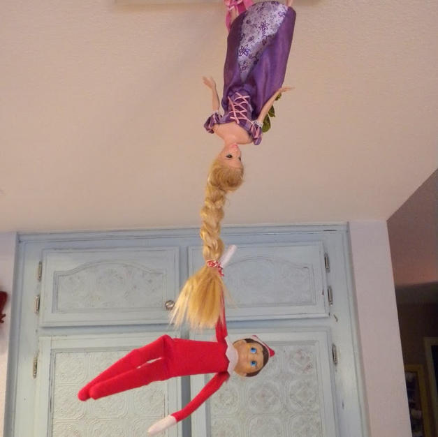 Let Down Your Hair | Elf On The Shelf