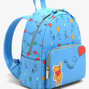 Danielle Nicole Disney Winnie The Pooh Balloons Mini Backpack - Boxlunch Exclusive