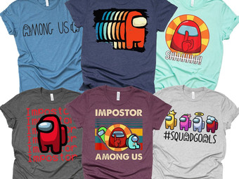 Imposter Tees   Youth + Adult