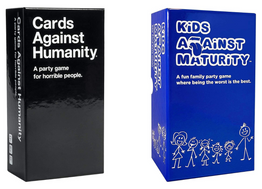 50% OFF | Cards Against Humanity & Kids Against Maturity Card Games