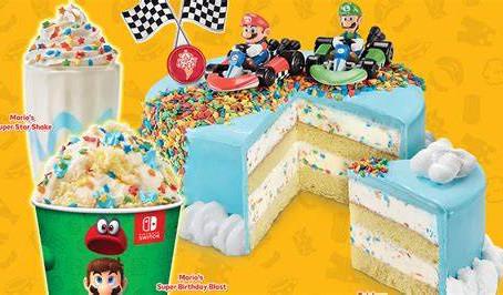 Commemorate Super Mario Bros. 35th Anniversary At Stone Cold Creamery