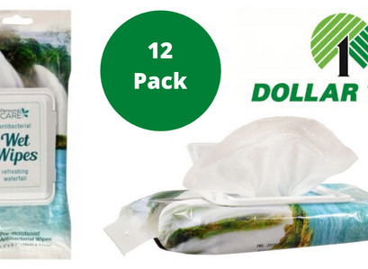 Personal Care Antibacterial Waterfall Scented Wet Wipes