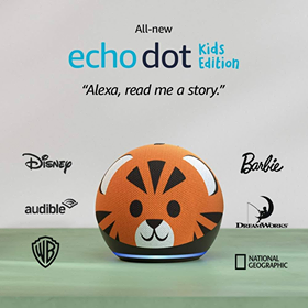 NEW! All-New Echo Dot (4th Gen) Kids Edition | Designed For Kids, With Parental Controls