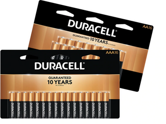 FREE Duracell Batteries 16 or 24 Pack After Office Depot Rewards