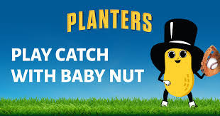 """Planters """"Baby Nut's First Game of Catch"""" Instant Win Game"""