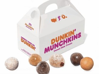 Free 25-Ct MUNCHKINs + $0 Delivery Fee With DoorDash