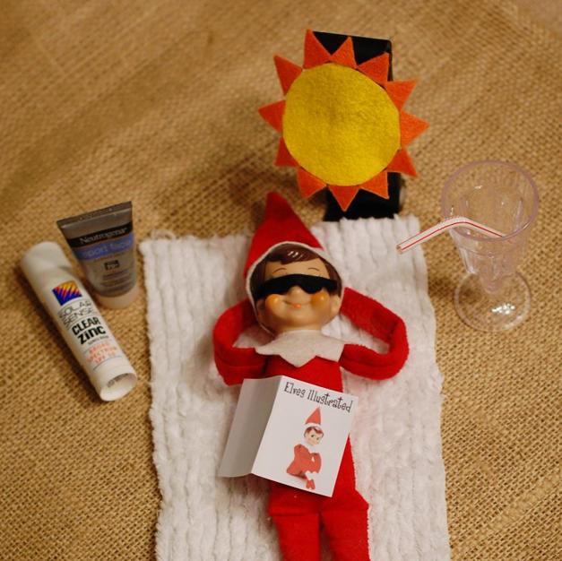 Fun In The Sun | Elf On The Shelf