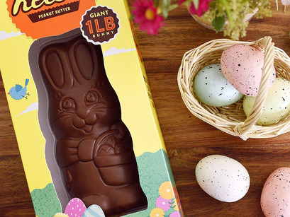 REESE'S Milk Chocolate Peanut Butter Filled One Pound Bunny (It's Not Hallow!)