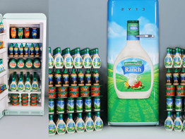 Hidden Valley Ranch Is Selling A Fridge With A Lifetime Supply Of Dressing