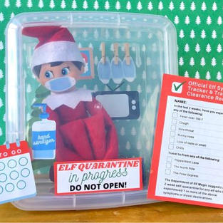 Quarantine | Elf On The Shelf