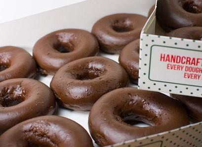 Krispy Kreme Chocolate Glazed Dozen Only $5 w/ Any Regular Dozen Purchase | 10/2 Only