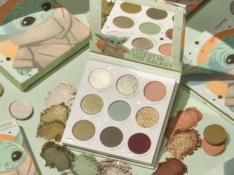 Colourpop Launching a Baby Yoda Eye Shadow Palette