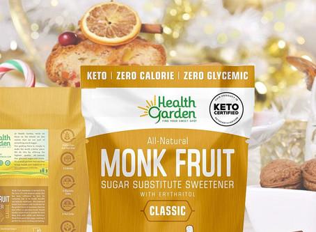 Get 50% Off Health Garden Monk Fruit Sweetener on Amazon