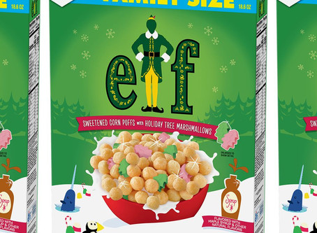 General Mills Releasing Elf Cereal and We Can't Wait!