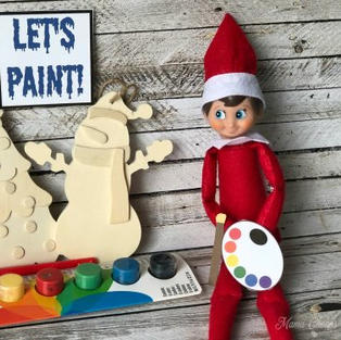 Let's Paint | Elf On The Shelf