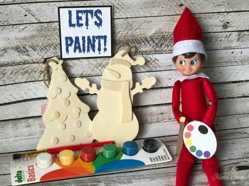 Let's Paint | Elf On The Shelf