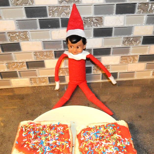 Morning Toast | Elf On The Shelf