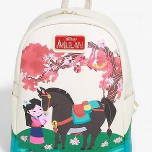 Disney Mulan Cherry Blossom Loungefly Mini Backpack