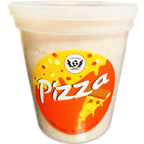 IT'Sugar   Pizza, Fries and Ketchup or Beer Flavored Cotton Candy