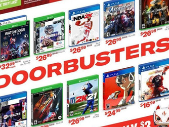 GameStop Black Friday 2020 Ad And Game Deals Revealed