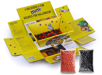 M&M's Milk Chocolate Halloween Baking and Decorating Kit