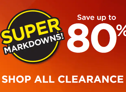 Kohl's |  Super Markdowns: Shop All Clearance Up To 80% Off