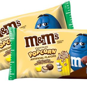 NEW! M&M's Chocolate Popcorn Candy