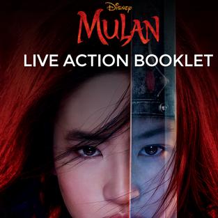 Free Printable | Disney Mulan Live Action Booklet