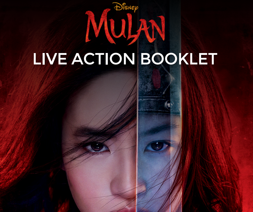 Free Printable | Disney Mulan Live Action Booklet