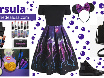Ursula Fashion and Style For Your Next Disney Parks Adventure