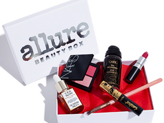 Allure Beauty Box from $13.75 Shipped (Over $100 Value) + FREE Bonus Gifts