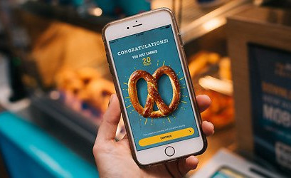 $5 Off a $20+ Order Placed in The Pretzel Perks App