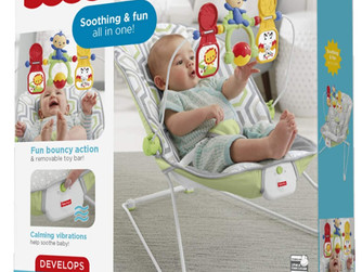 Amazon | Fisher-Price Baby's Bouncer