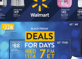 Walmart Black Friday 2020 Sale Dates, Store Hours