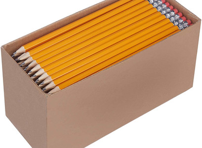 Back To School | AmazonBasics Pre-sharpened Wood Cased #2 HB Pencils, 150 Pack