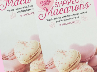 Trader Joe's Has Heart-Shaped Macarons Just in Time for Valentine's Day