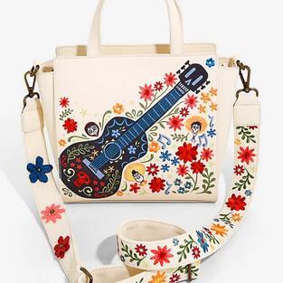 Loungefly Disney Pixar Coco Floral Handbag