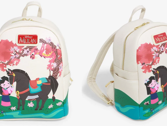 Disney Mulan Cherry Blossom Mini Backpack - BoxLunch Exclusive