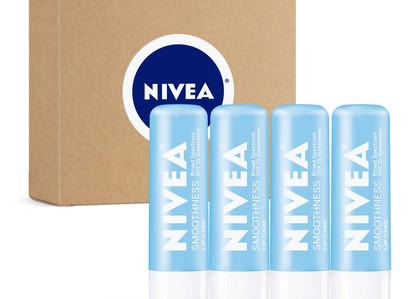 Amazon | NIVEA SPF 15 Moisturizing Lip Balm - 4 Pk